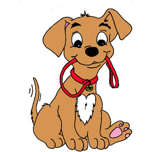 300x300 Cute Dog Clipart