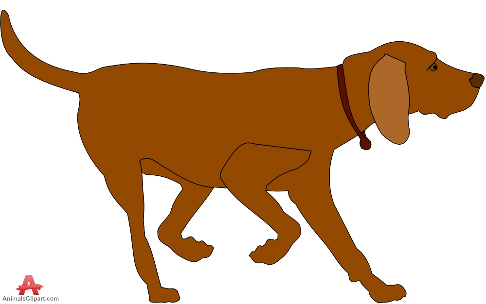 999x626 Brown Dog Clipart