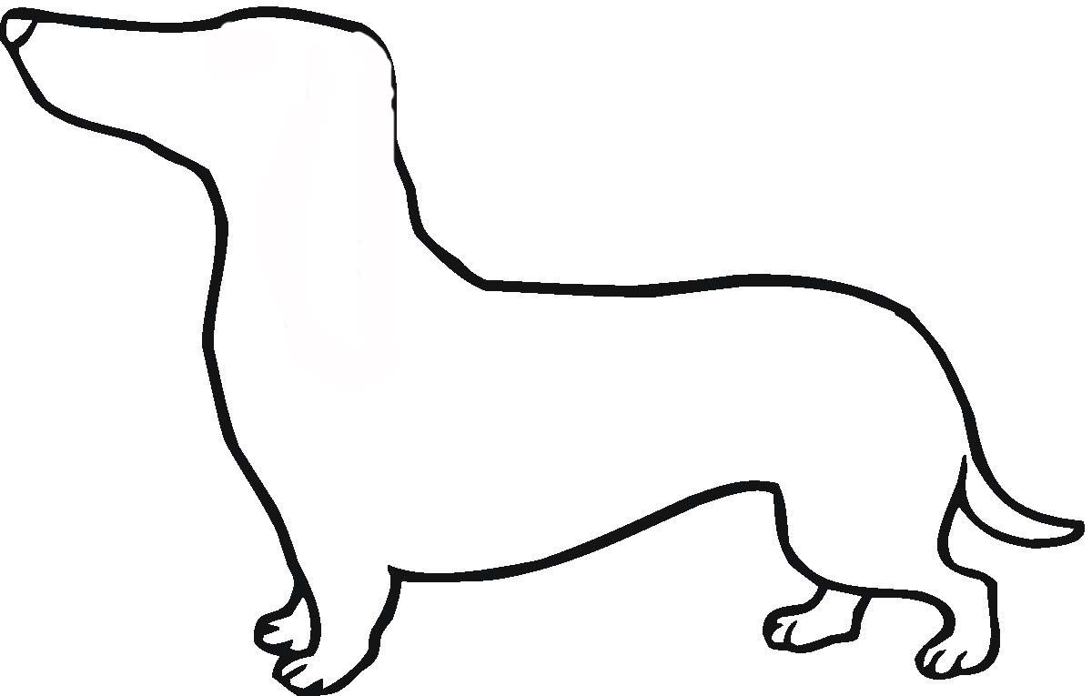 Dog Template | Dogs Outline Free Download Best Dogs Outline On Clipartmag Com