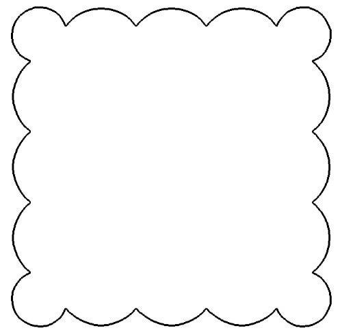 500x490 Squares Clipart Doily
