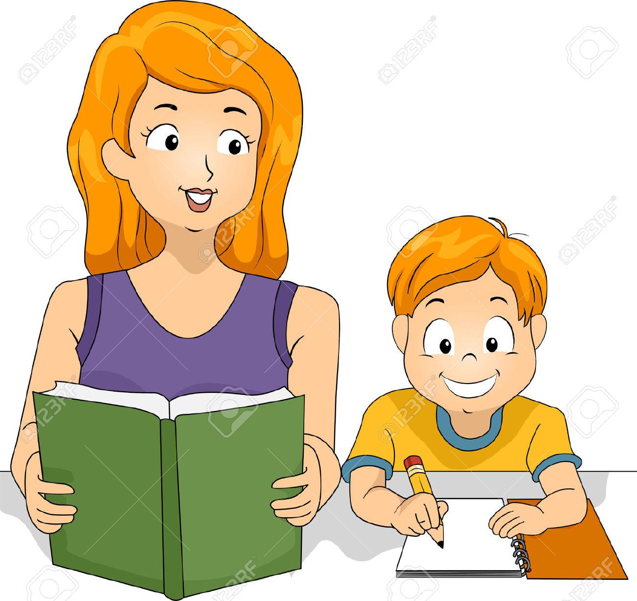 1300x1227 Homework Clipart Family