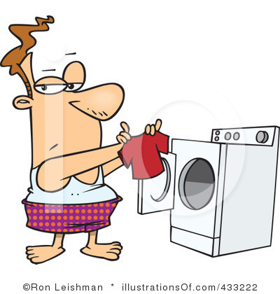 400x420 Doing Laundry Clipart 2146105