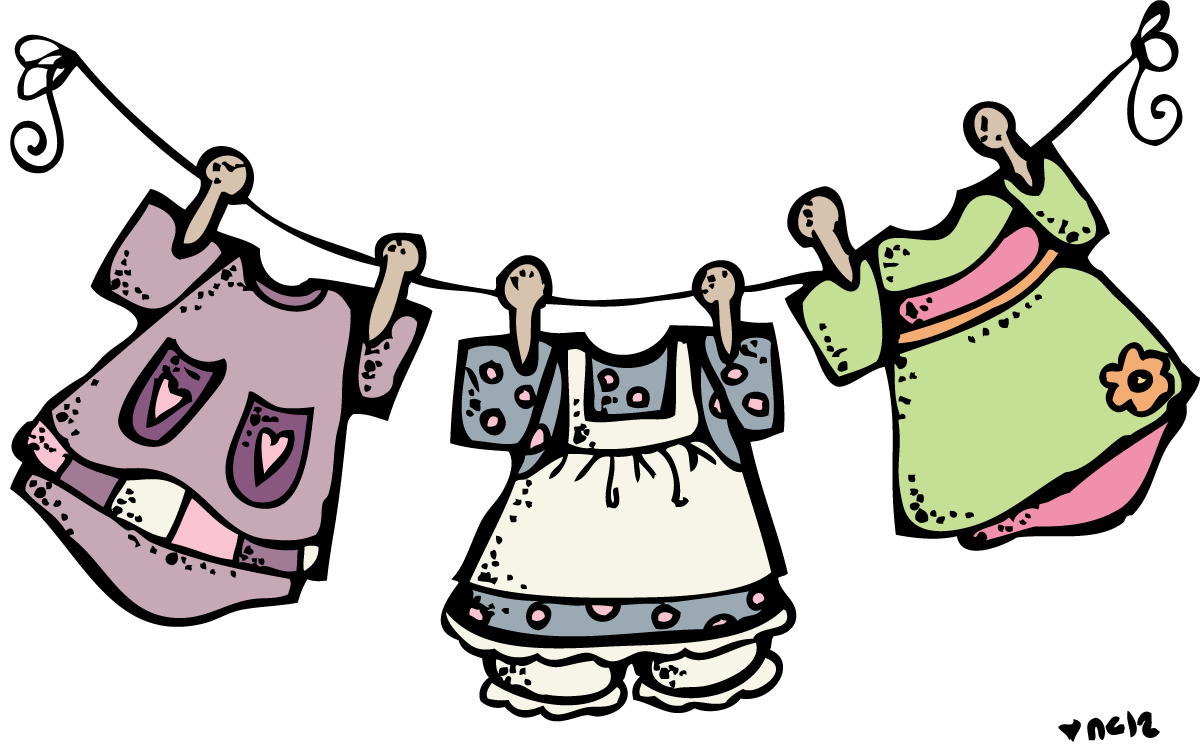 1200x744 Laundry Clipart 4 Image 2