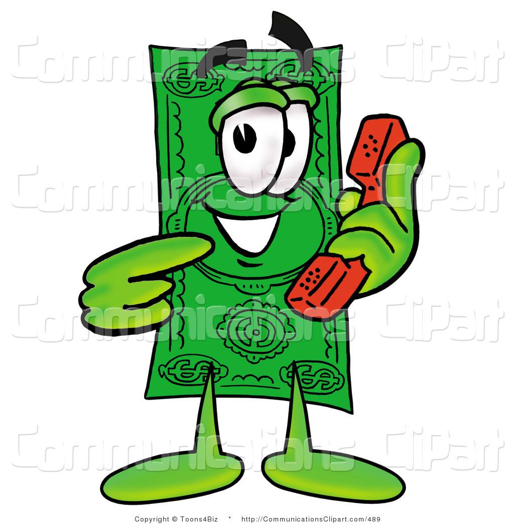 1024x1044 Communication Clipart Of A Dollar Bill Mascot Cartoon Character