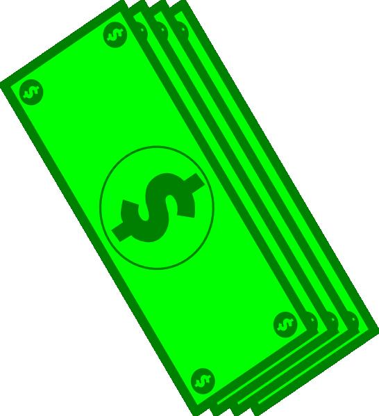 546x598 Dollar Bills Clip Art