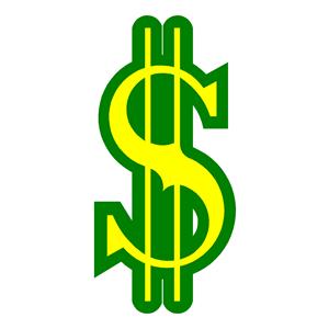 300x300 Dollar Bill Clip Art Clipart Kid