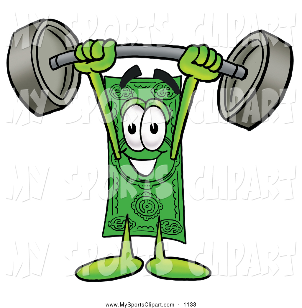 1024x1044 Sports Clip Art Of A Grinning Dollar Bill Mascot Cartoon Character