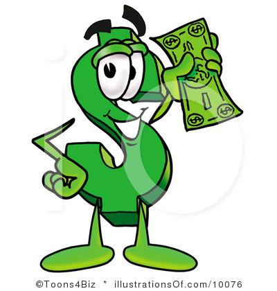 400x420 Dollar Clip Art Royalty Free Dollar Sign Clipart Illustration