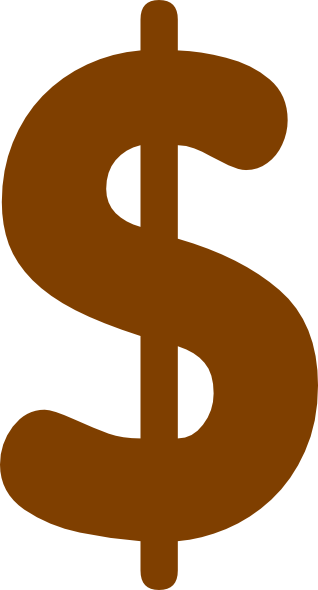 318x590 Baby Dollar Sign Clip Art