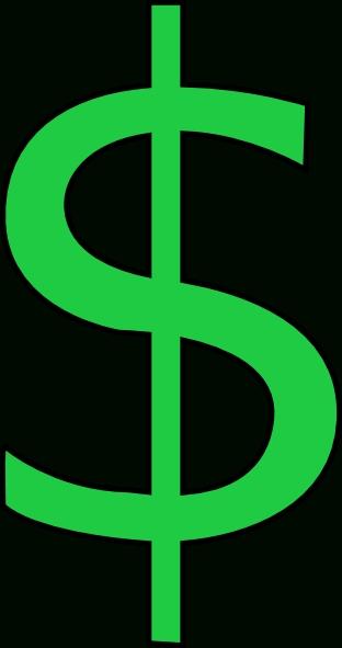 312x591 Cartoon Dollar Sign Clipart Clipartme On Cartoon Dollar Sign