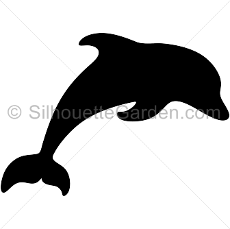 336x334 Dolphin Silhouette Clip Art. Download Free Versions Of The Image