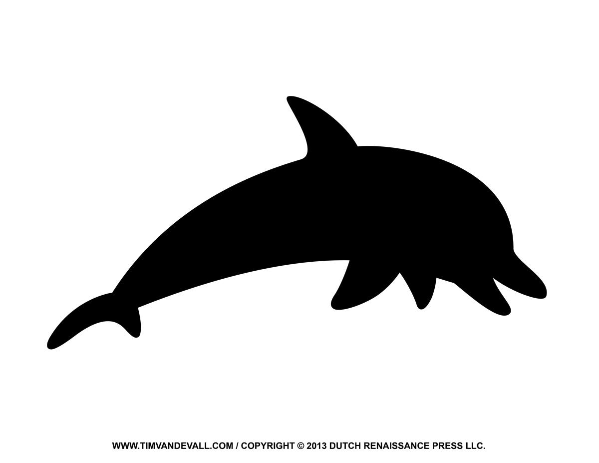 1200x927 Black Clipart Dolphin