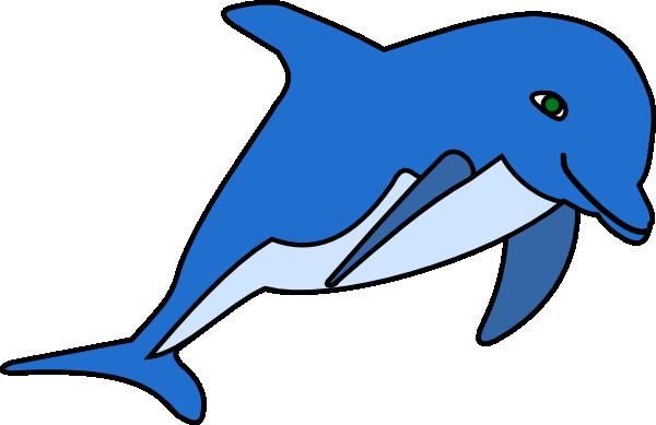 600x389 Dolphin Clip Art