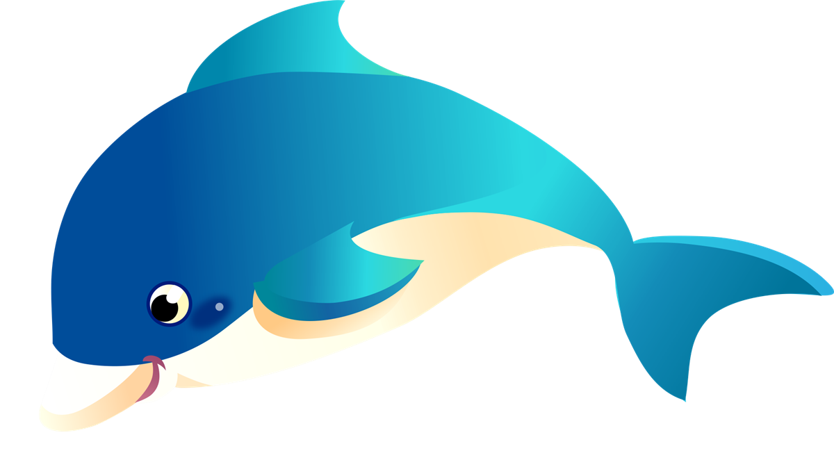 1200x649 Kids Dolphin Clipart