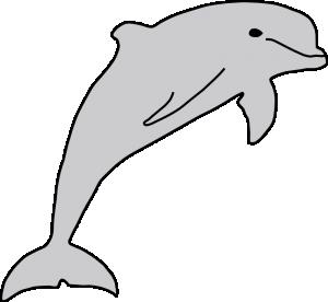 300x276 Dolphin Clip Art Download