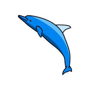 300x300 Cute Dolphin Clipart Animals Clip Art Downloadclipart Org 3