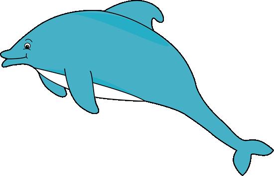 550x355 Dolphin Clip Art