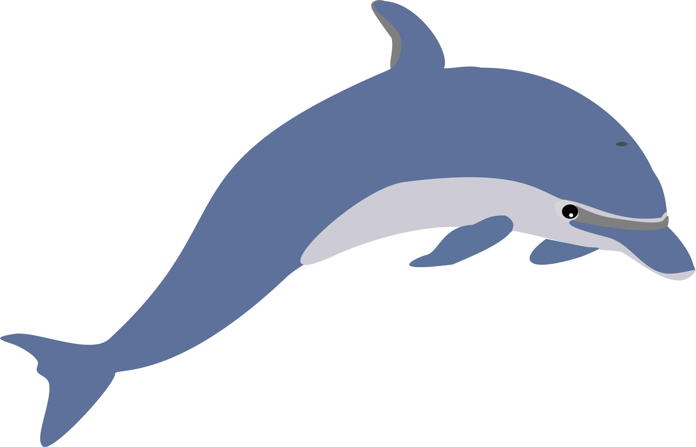 2400x1541 Dolphin Clip Art Free Clipart Panda