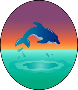 262x300 Free Free Dolphin Clip Art Image 0515 1003 2503 2421 Animal Clipart
