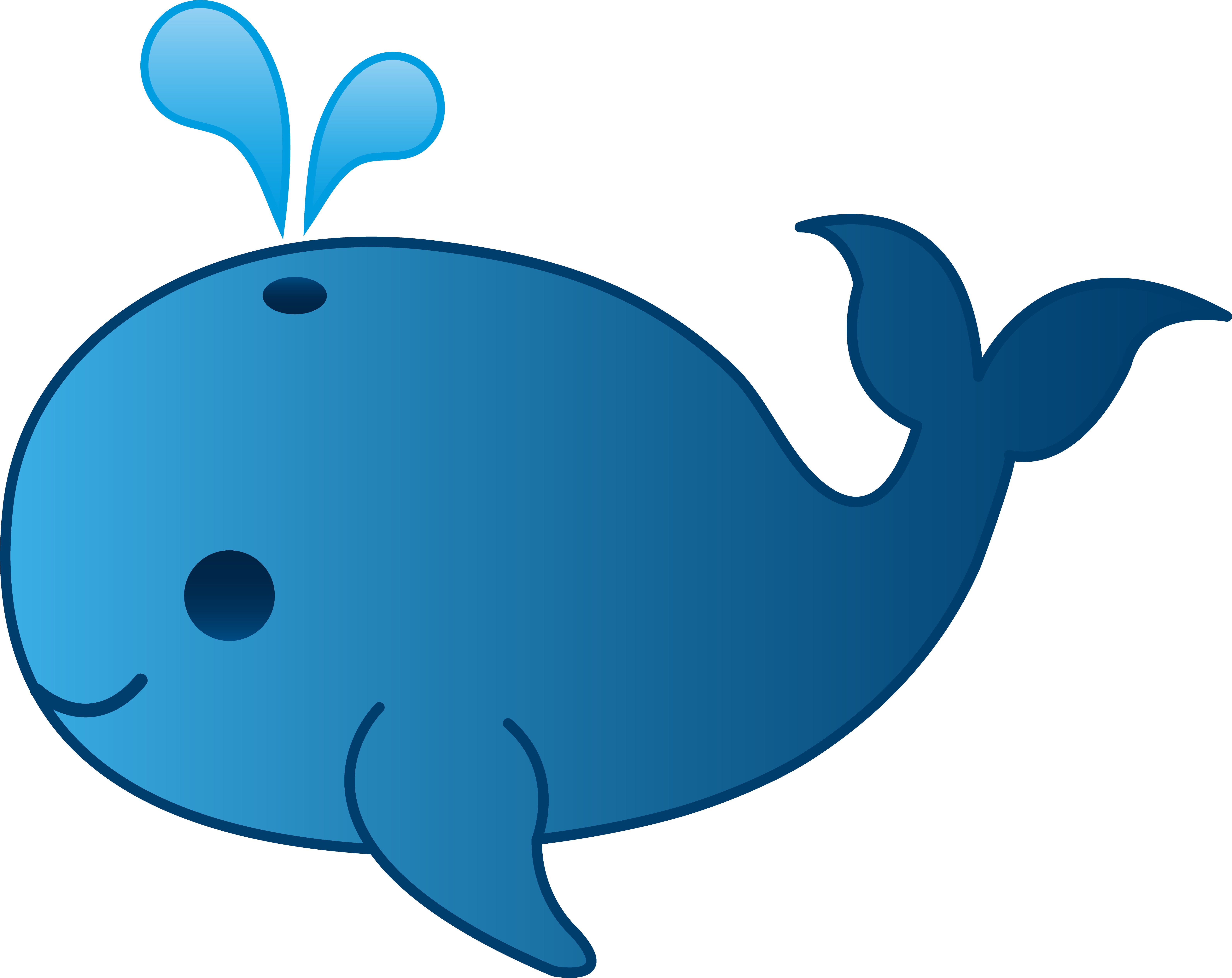 6371x5057 Baby Dolphin Clipart