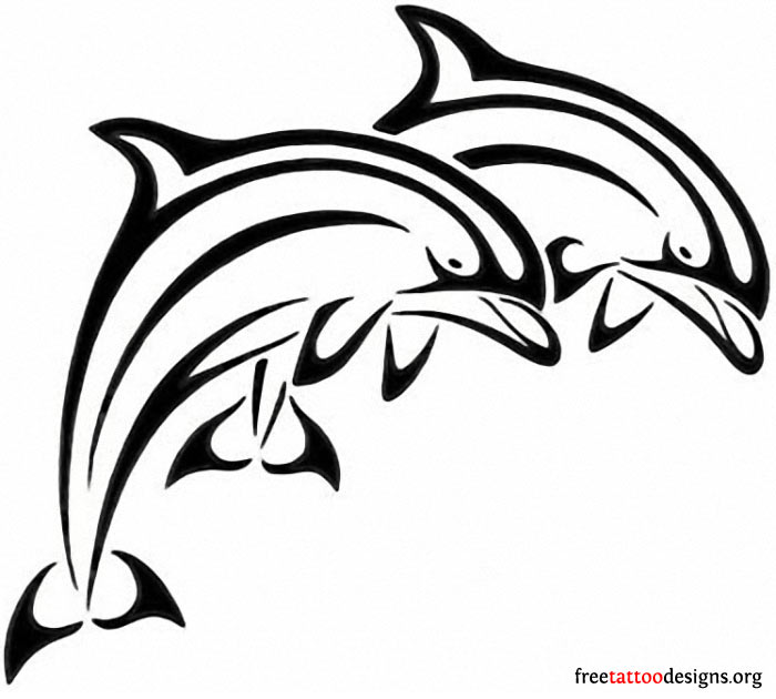 700x630 35 Dolphin Tattoos And Tattoo Designs