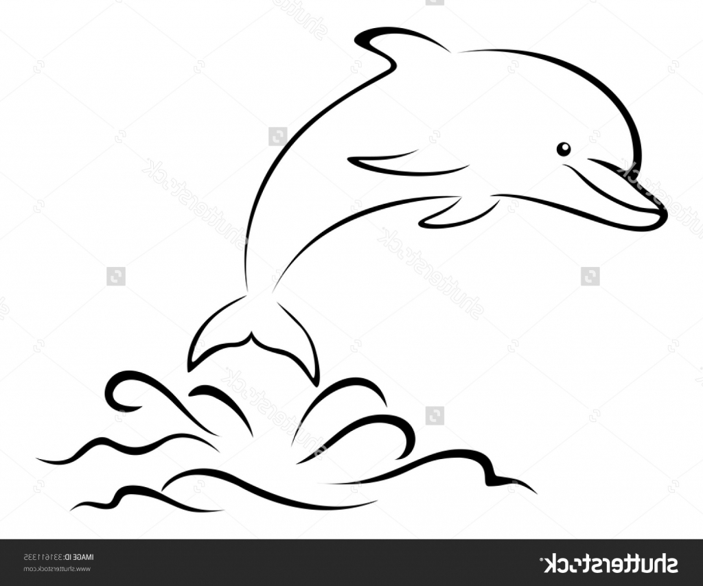 1024x854 Easy Drawings Of Dolphins