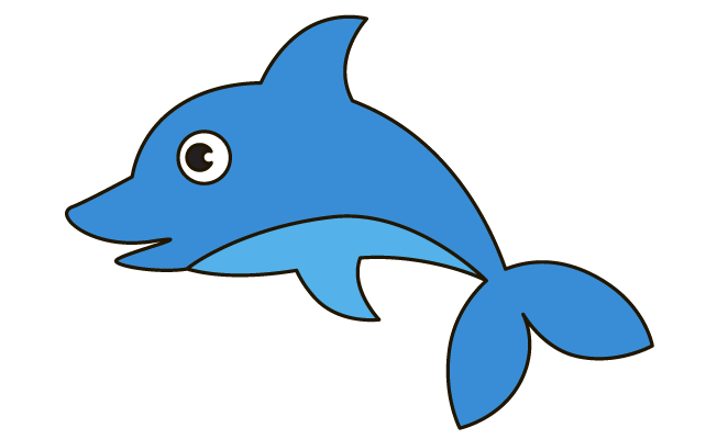 662x400 How To Draw A Dolphin In A Few Easy Steps Easy Drawing Guides