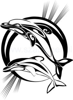 236x326 Tattoo Outlines Gallery Tribal Dolphin Outline Tattoo Dolphin