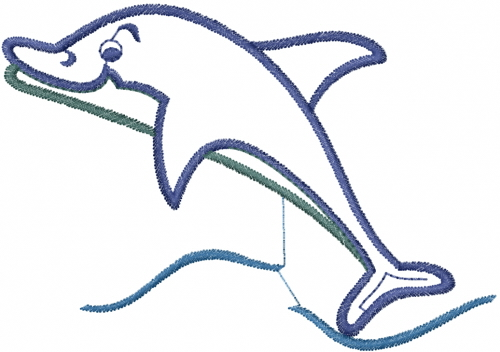 500x352 Best Dolphin Outline