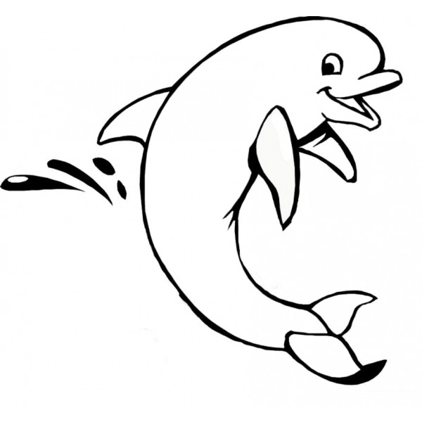 600x600 Dolphin Tattoo Outline Pictures To Pin