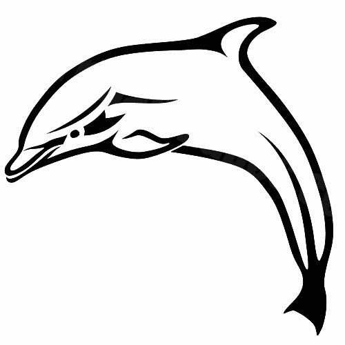 500x500 Dolphin Tattoo Designs