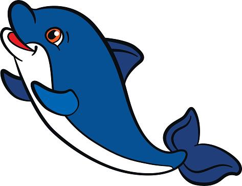 473x363 Dolphins Clipart Kawaii