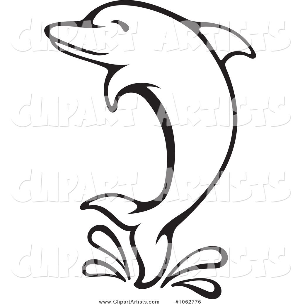 1024x1044 Dolphins Clipart Simple
