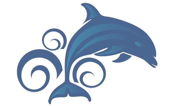 600x370 Free Dolphin Vector Art Clip Art Image