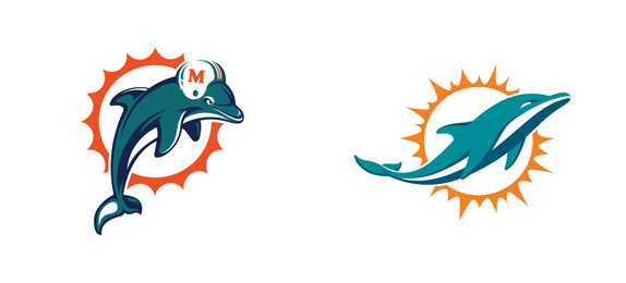 574x260 Miami Dolphins Clipart