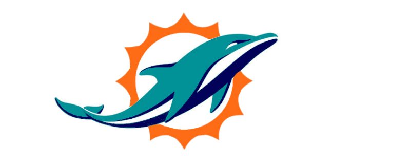 799x328 Miami Dolphins New Logo Png Clipart