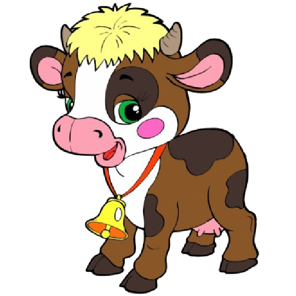 600x600 Cartoon Farm Animal Clipart
