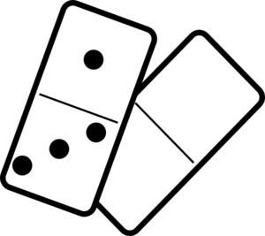 300x267 Falling Dominoes Clip Art