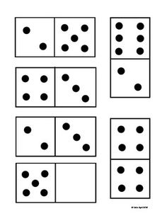 236x305 Demo Domino Cards For Teacher To Use With Number Sense Activities