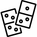 128x128 Domino Game Icons Free Download