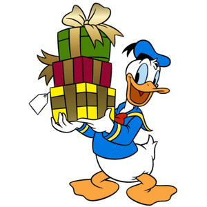 300x300 Christmas Clipart Donald Duck