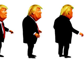 270x210 Donald Trump Png Animation Character Freelancer