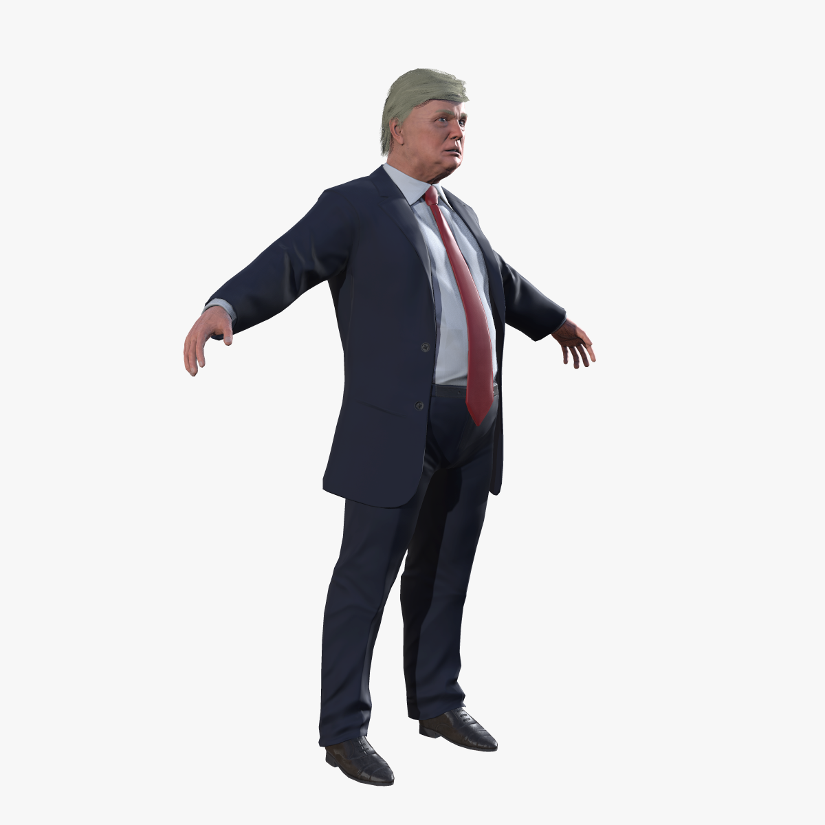 1200x1200 Donald Trump Rigged By Karinvanandel 3docean