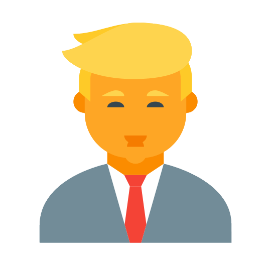 540x540 Icons For Donald Trump Face Icon