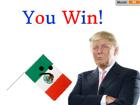 480x360 The Donald Trump Wall Builder Game On Scratch