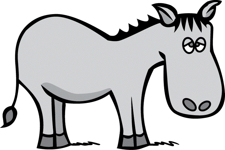 751x500 Donkey Clipart Black And White Free Clipart Images