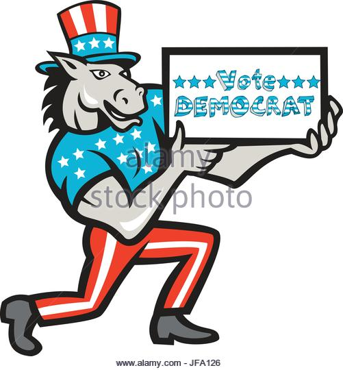 501x540 Democratic Donkey Cartoon Stock Photos Amp Democratic Donkey Cartoon