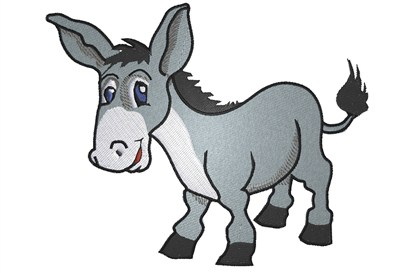 400x273 Cartoon Donkey Clipart