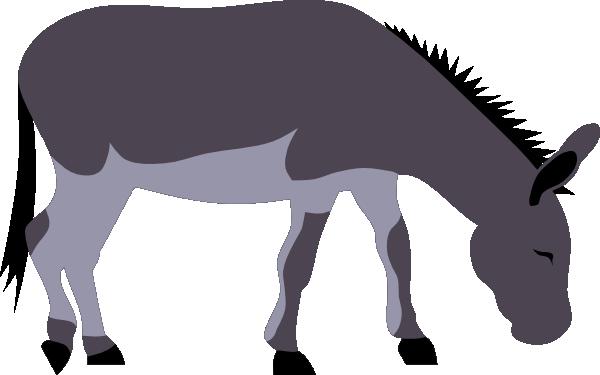 600x375 Donkey Clip Art