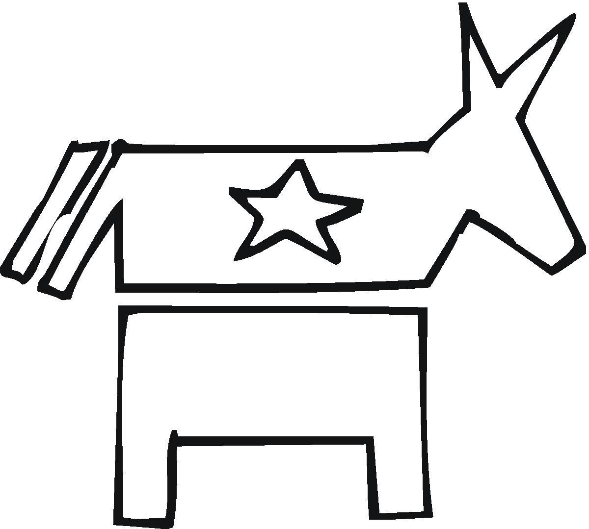 1200x1079 Democrat Character Clipart